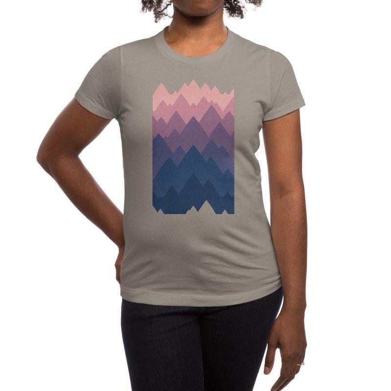 Mountain Vista : Sunset Women's T-Shirt by Waynem