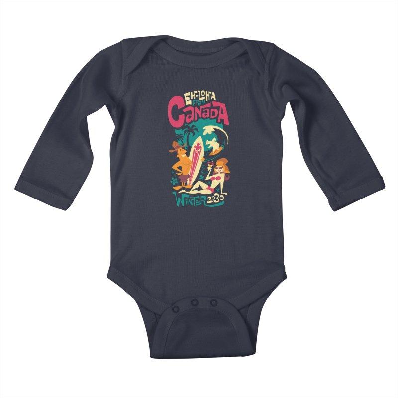 Eh-loha! Kids Baby Longsleeve Bodysuit by Waynem
