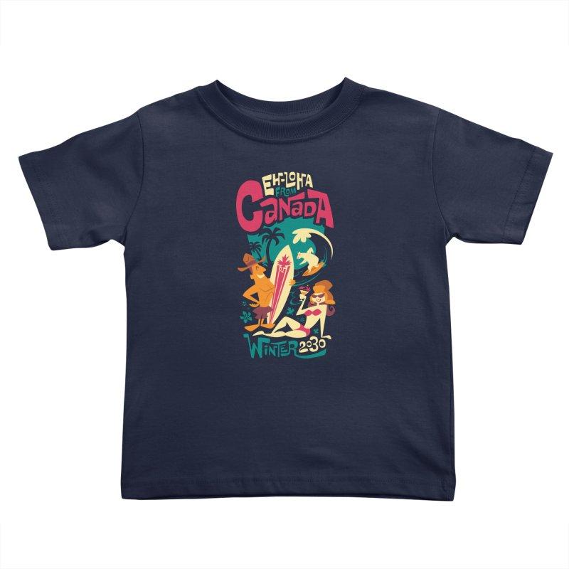 Eh-loha! Kids Toddler T-Shirt by Waynem