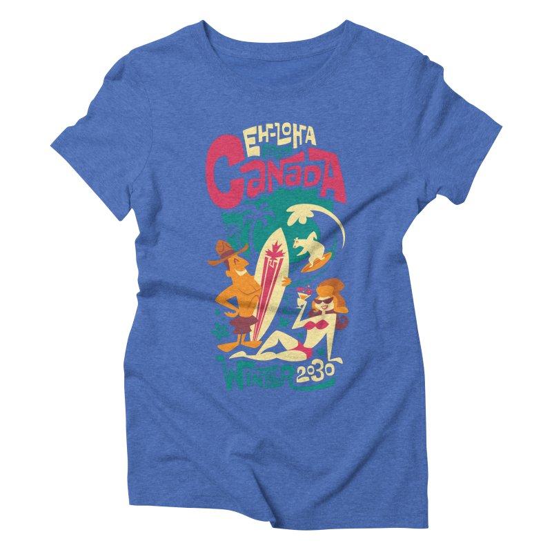 Eh-loha! Women's Triblend T-shirt by Waynem