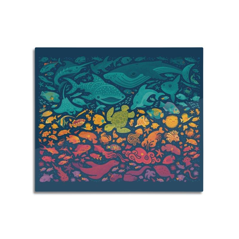 Aquatic Spectrum 2 Home Mounted Acrylic Print by Waynem