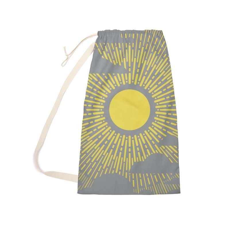 Sun Through the Clouds Accessories Bag by Waynem