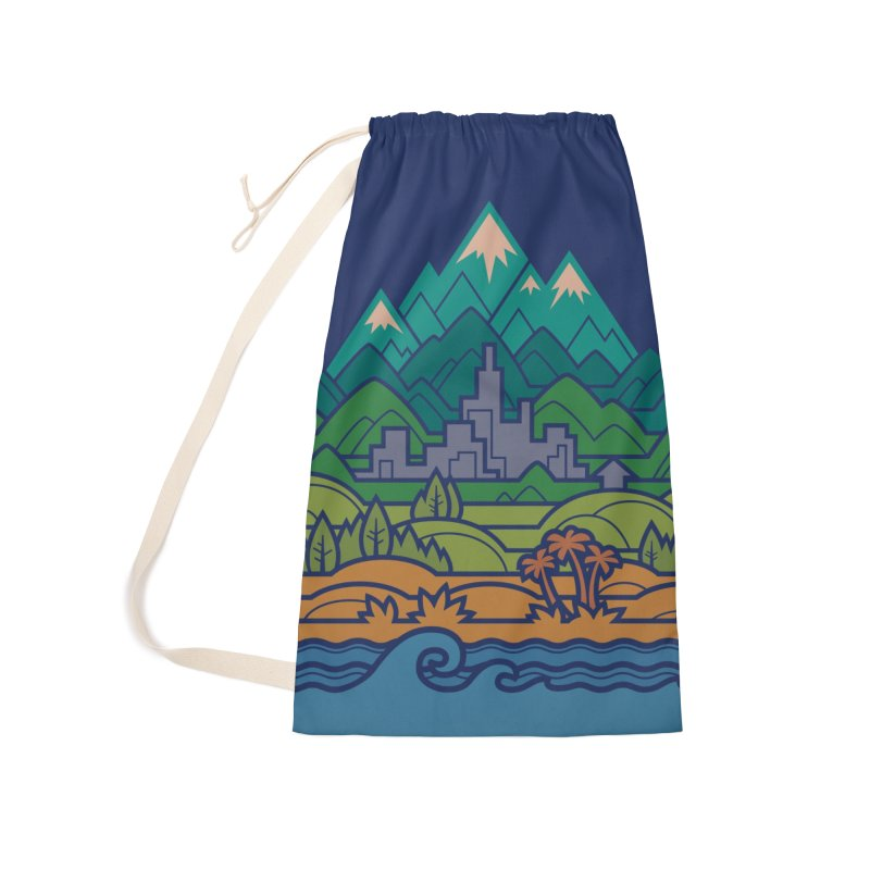 Small World Landscapes Accessories Bag by Waynem