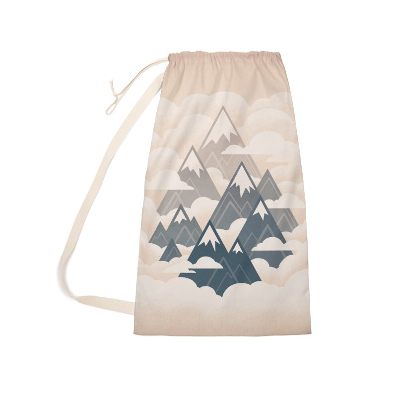Misty Mountains : Afternoon Accessories Bag by Waynem
