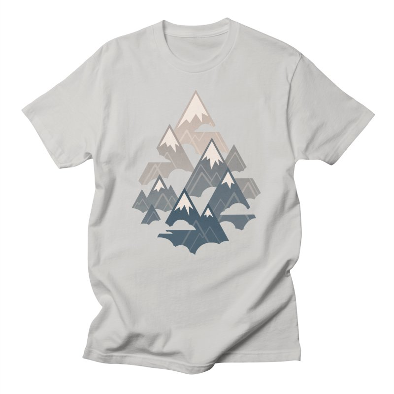 Misty Mountains : Afternoon Men's T-Shirt by Waynem