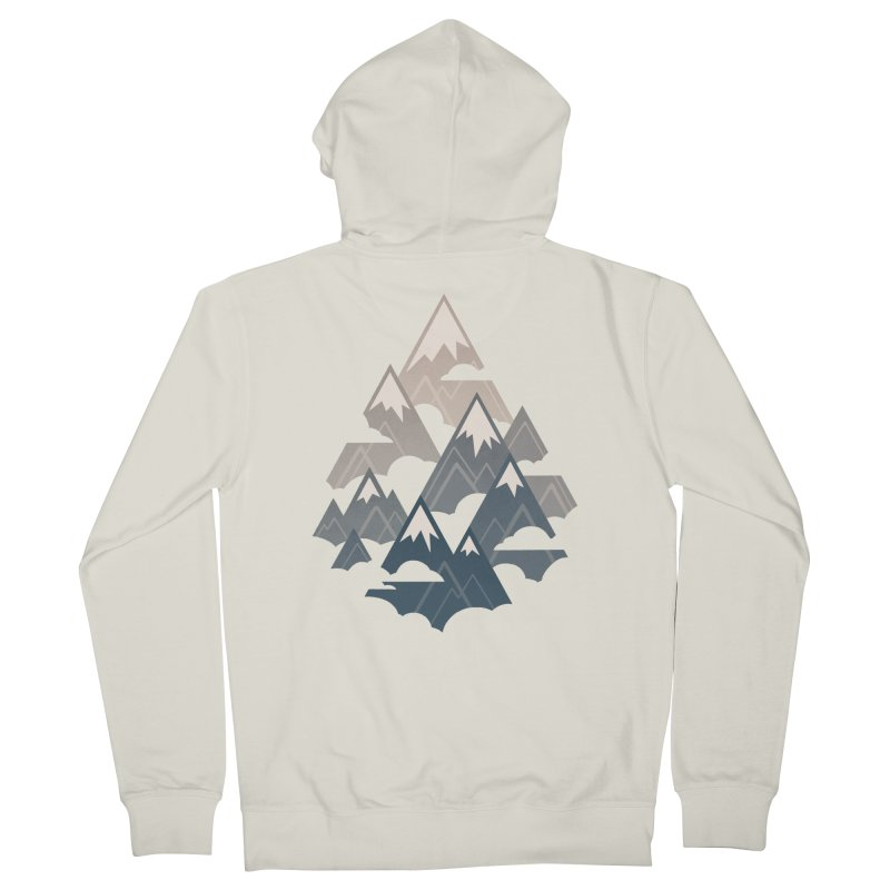 Misty Mountains : Afternoon Women's Zip-Up Hoody by Waynem