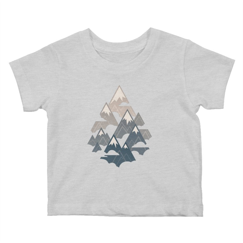 Misty Mountains : Afternoon Kids Baby T-Shirt by Waynem