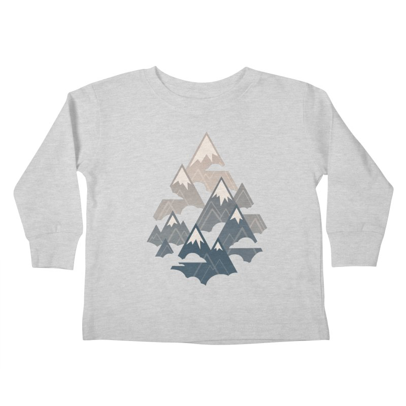 Misty Mountains : Afternoon Kids Toddler Longsleeve T-Shirt by Waynem