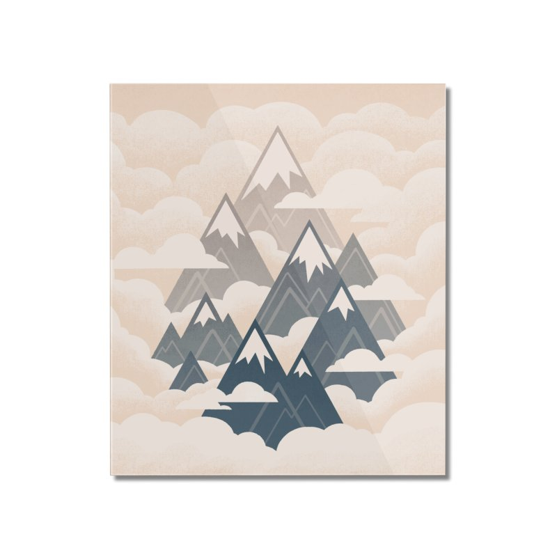 Misty Mountains : Afternoon Home Mounted Acrylic Print by Waynem