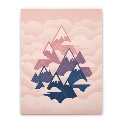 image for Misty Mountains : Sunset