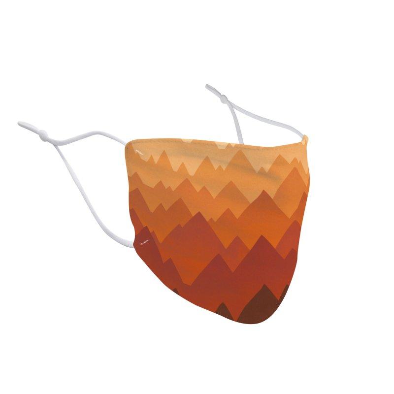 Mountain Vista : Warm Accessories Face Mask by Waynem
