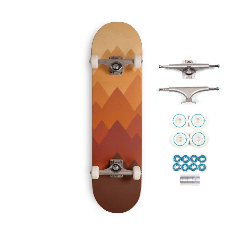 Mountain Vista : Warm Accessories Skateboard by Waynem