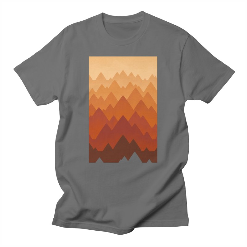 Mountain Vista : Warm Men's T-Shirt by Waynem