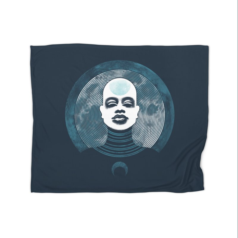 Luna Home Fleece Blanket by Waynem