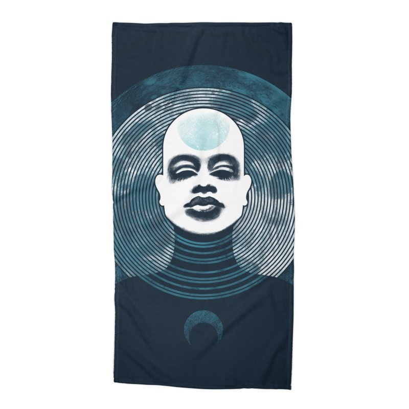 Luna Accessories Beach Towel by Waynem