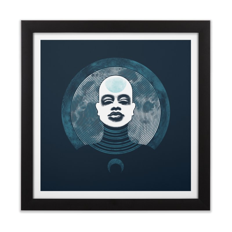 Luna Home Framed Fine Art Print by Waynem