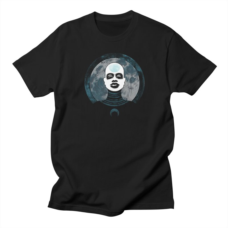 Luna Women's Unisex T-Shirt by Waynem