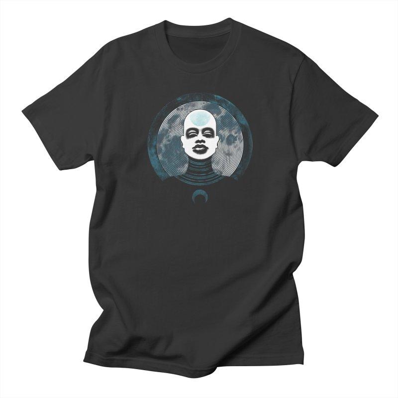 Luna Men's T-shirt by Waynem