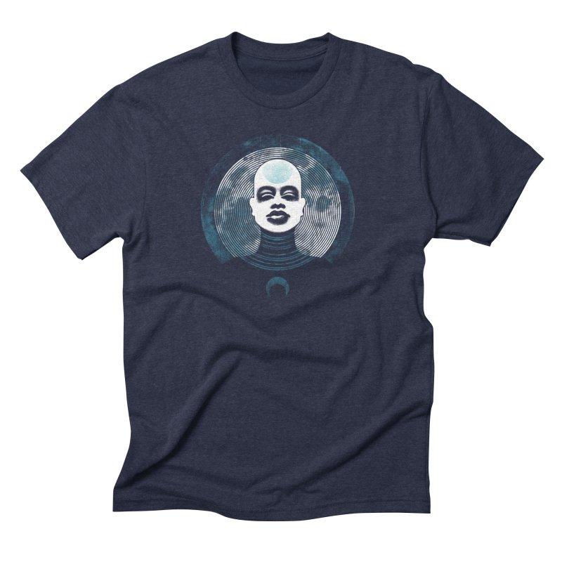 Luna Men's Triblend T-shirt by Waynem
