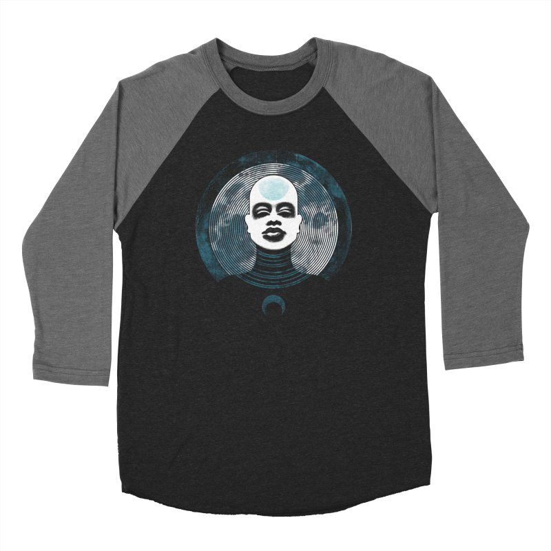 Luna Men's Baseball Triblend T-Shirt by Waynem