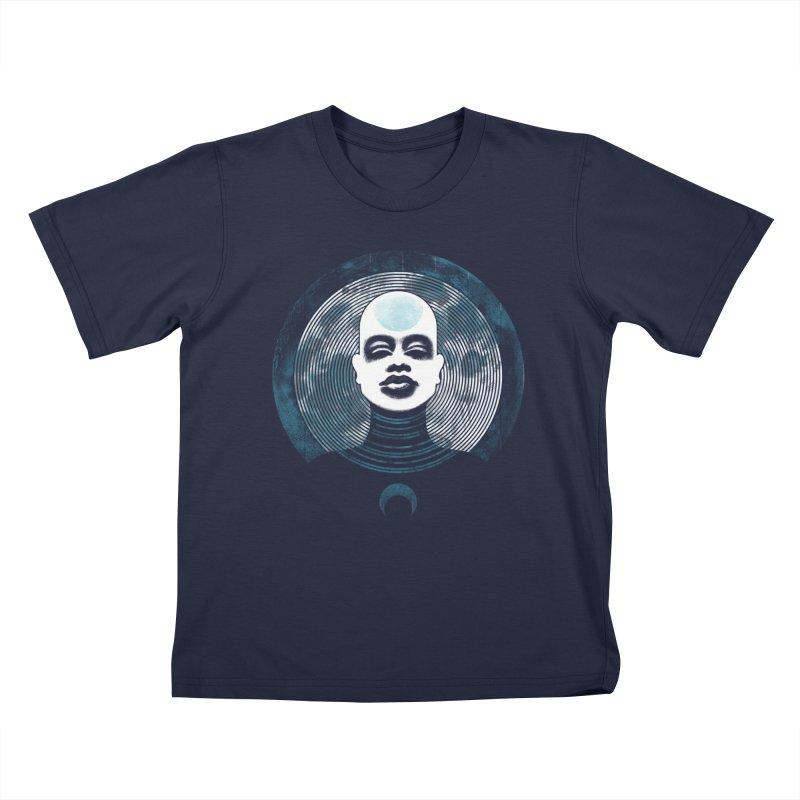 Luna Kids T-shirt by Waynem
