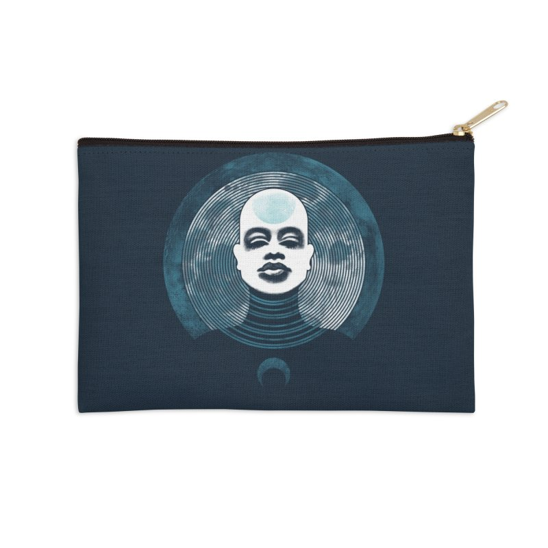 Luna Accessories Zip Pouch by Waynem