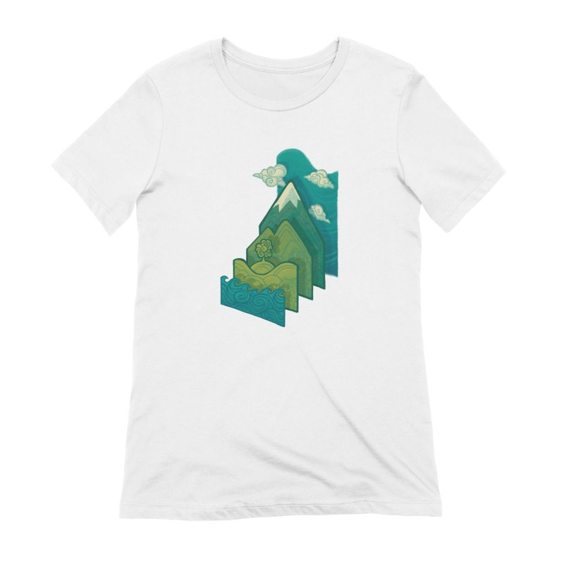 How to Build a Landscape Women's T-Shirt by Waynem