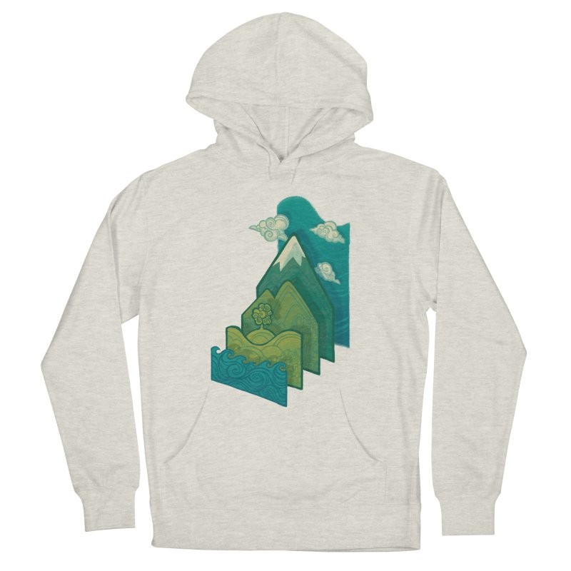 How to Build a Landscape Women's Pullover Hoody by Waynem