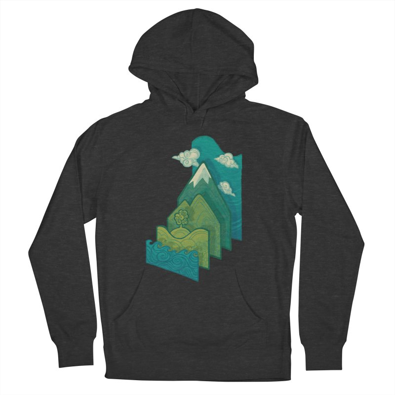 How to Build a Landscape Men's Pullover Hoody by Waynem