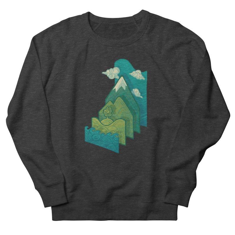 How to Build a Landscape Men's Sweatshirt by Waynem