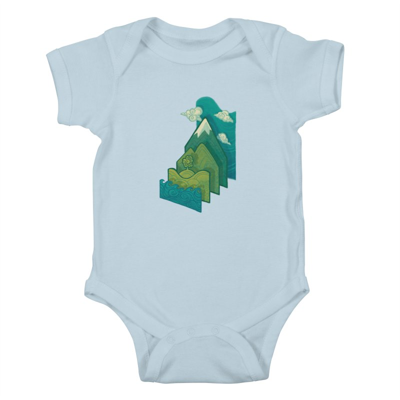 How to Build a Landscape Kids Baby Bodysuit by Waynem