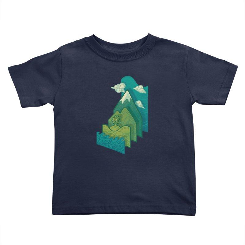 How to Build a Landscape Kids Toddler T-Shirt by Waynem