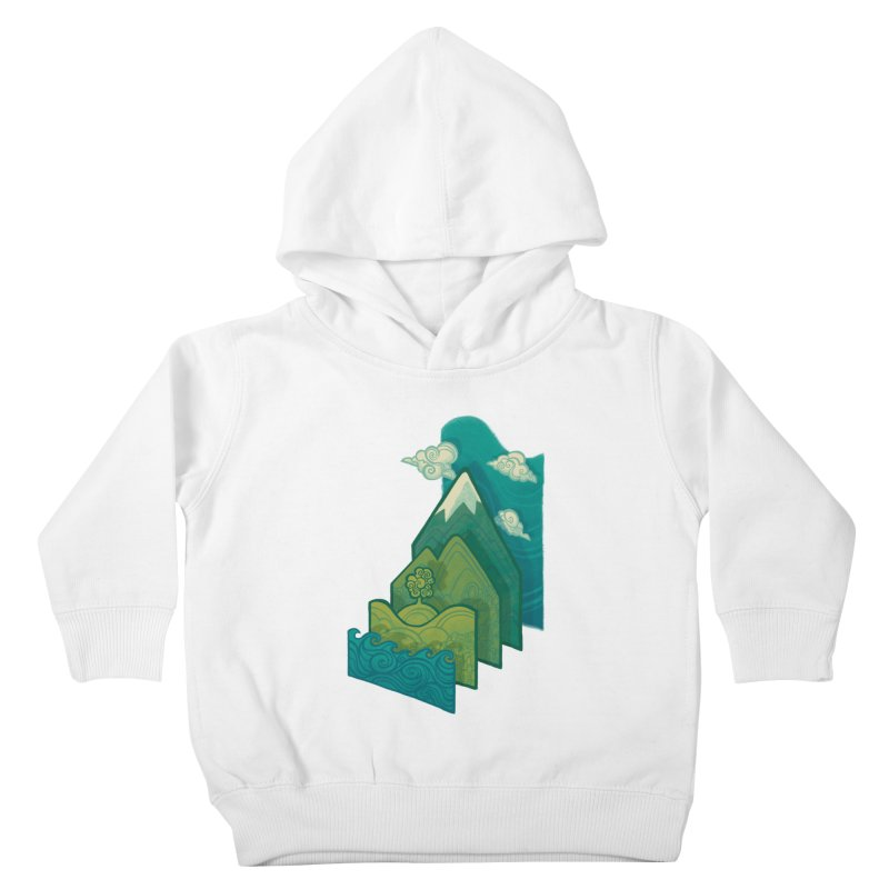 How to Build a Landscape Kids Toddler Pullover Hoody by Waynem