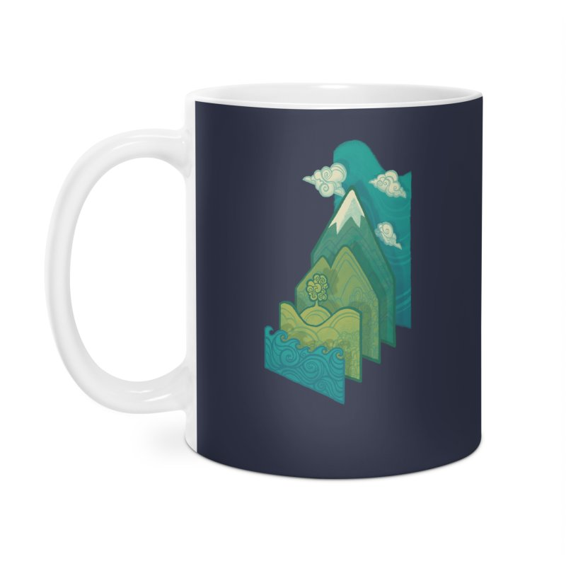 How to Build a Landscape Accessories Mug by Waynem