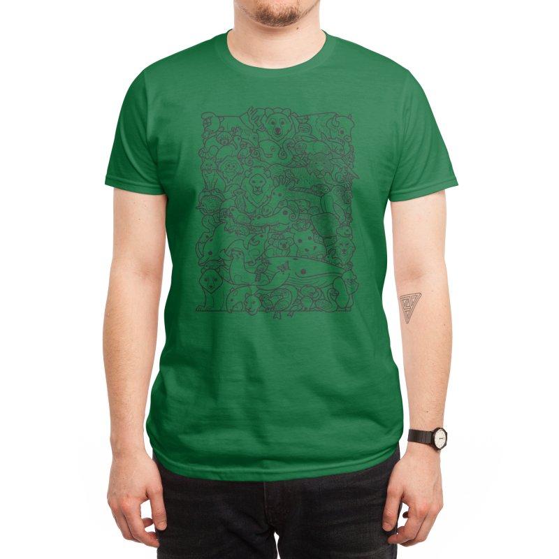 Animal Spectrum : Mono Men's T-Shirt by Waynem