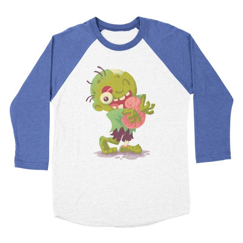 Zombie Hugs Women's Baseball Triblend T-Shirt by Waynem