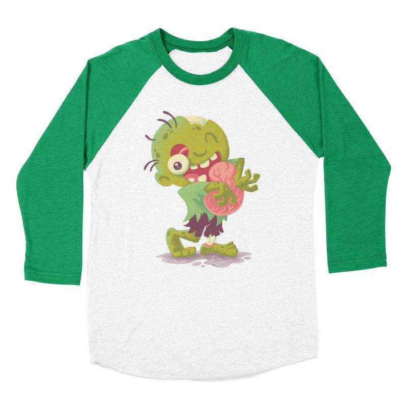 Zombie Hugs Men's Baseball Triblend T-Shirt by Waynem