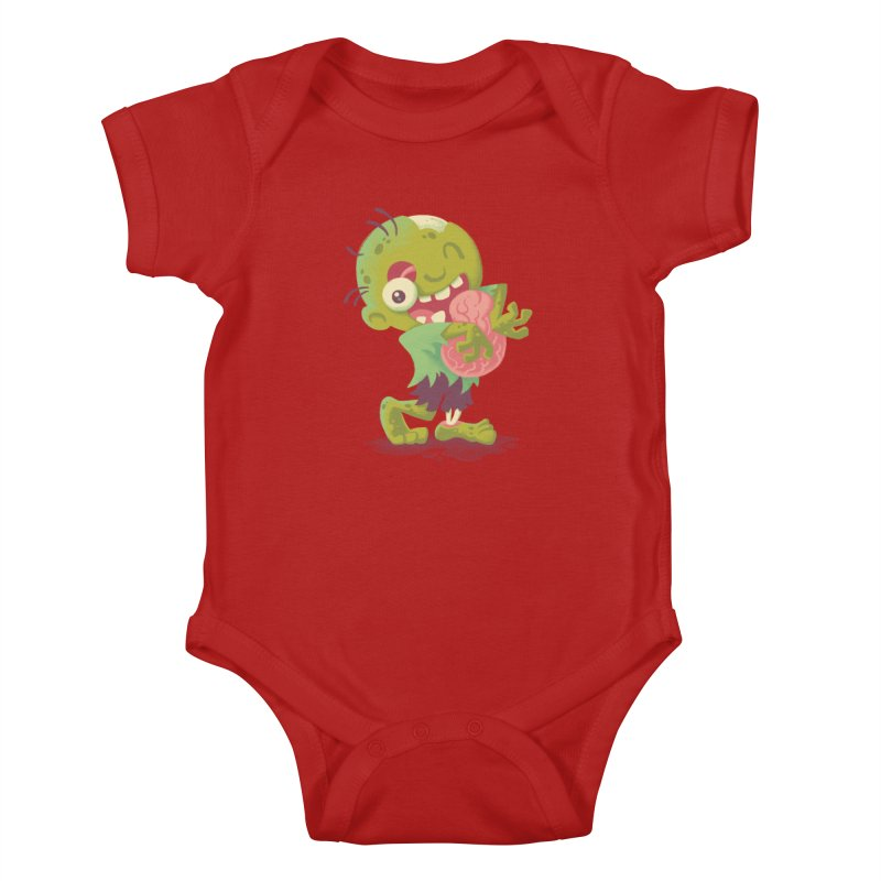 Zombie Hugs Kids Baby Bodysuit by Waynem