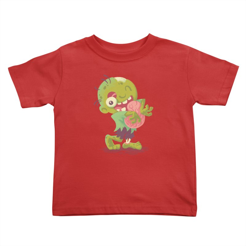 Zombie Hugs Kids Toddler T-Shirt by Waynem