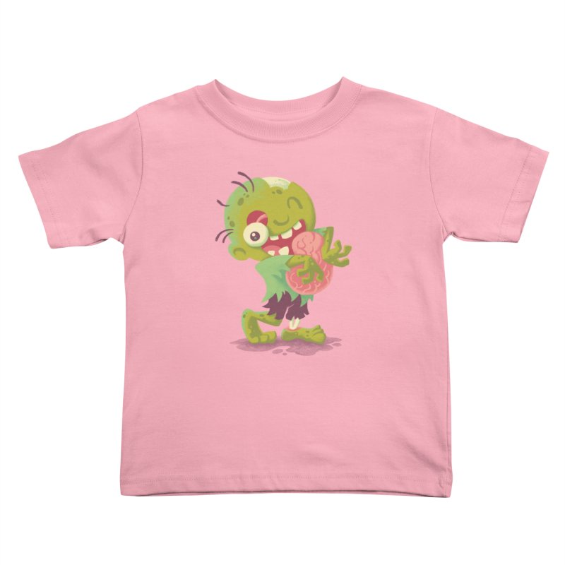 Zombie Hugs Kids Toddler T-Shirt by Waynem