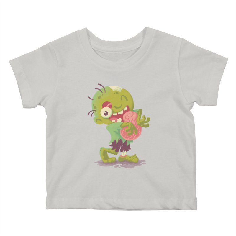 Zombie Hugs Kids Baby T-Shirt by Waynem