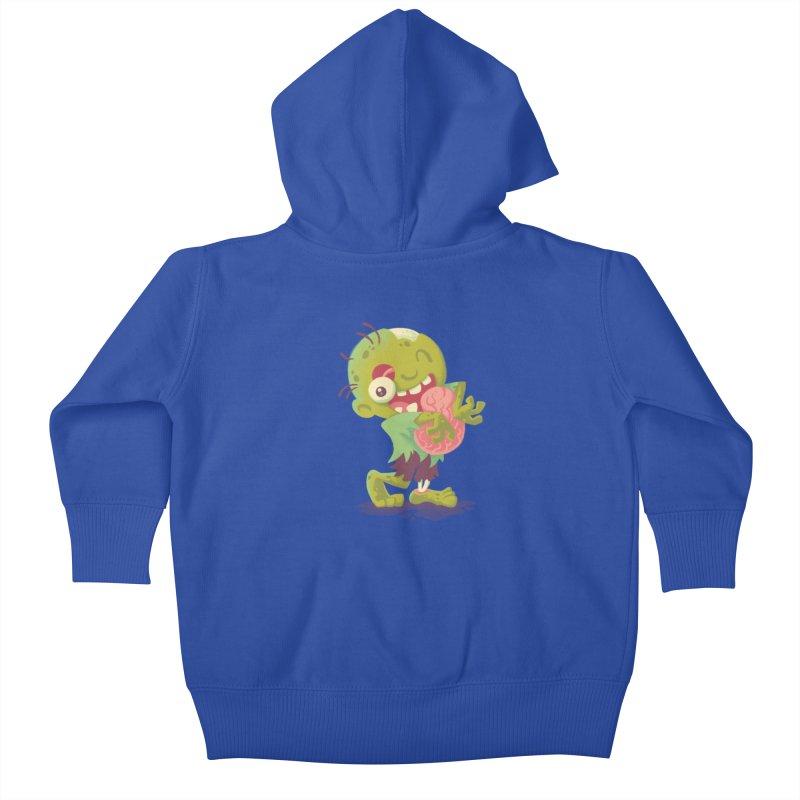 Zombie Hugs Kids Baby Zip-Up Hoody by Waynem