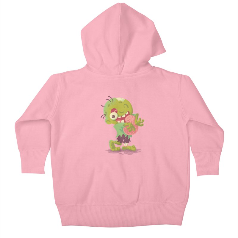 Zombie Hugs Kids Baby Zip-Up Hoody by Waynem