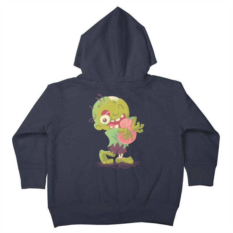 Zombie Hugs Kids Toddler Zip-Up Hoody by Waynem