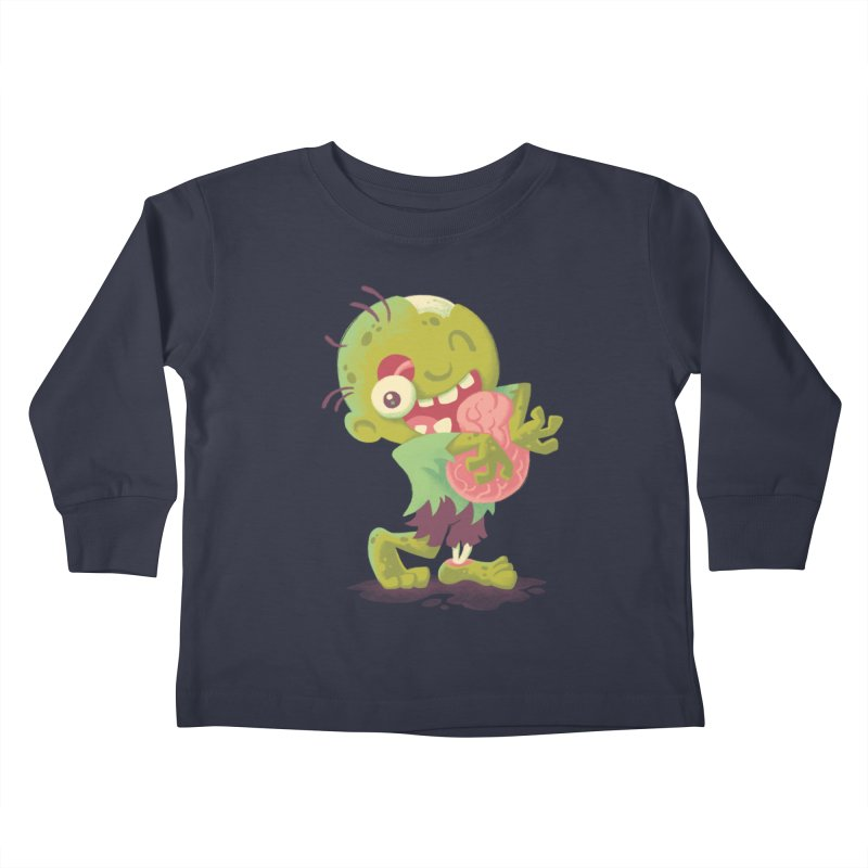 Zombie Hugs Kids Toddler Longsleeve T-Shirt by Waynem