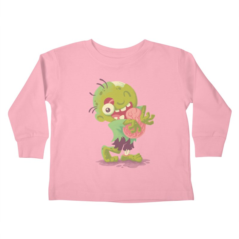 Zombie Hugs Kids Toddler Longsleeve T-Shirt by Waynem