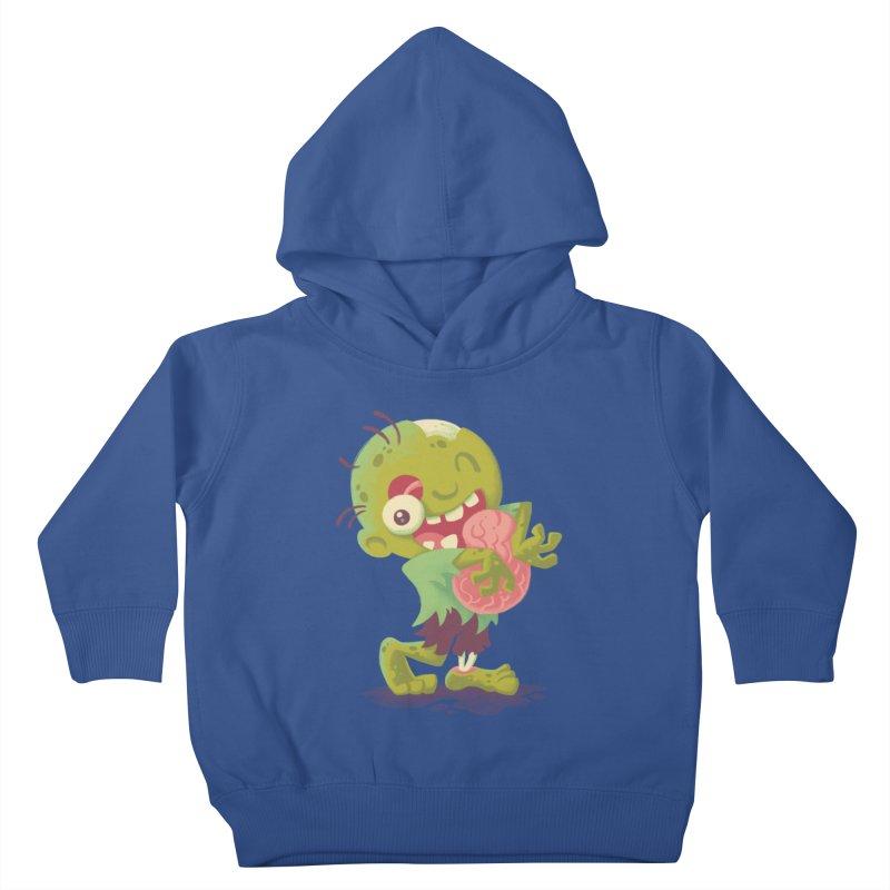 Zombie Hugs Kids Toddler Pullover Hoody by Waynem
