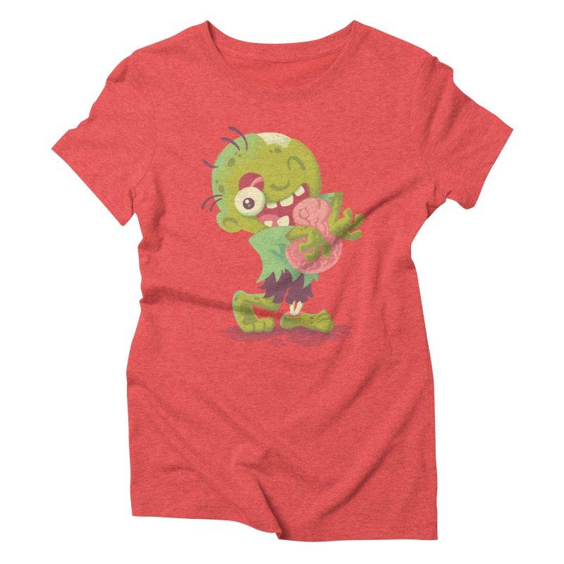 Zombie Hugs Women's Triblend T-shirt by Waynem