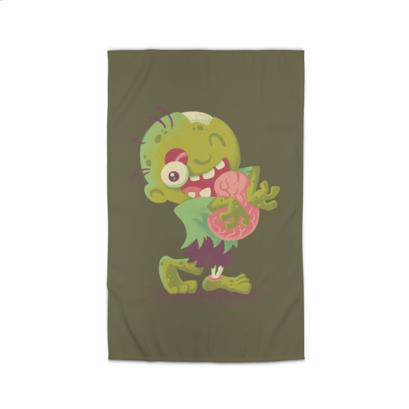 Zombie Hugs Home Rug by Waynem