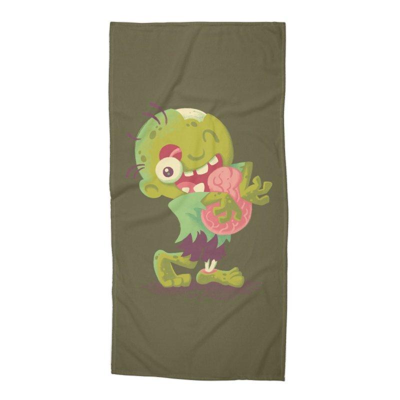 Zombie Hugs Accessories Beach Towel by Waynem